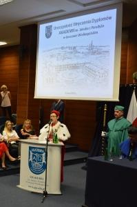 Wręczenie dyplomów w AJP. Absolutorium 2018_2